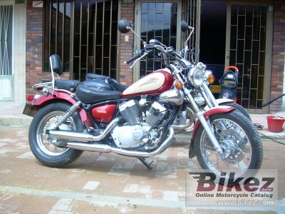1996 yamaha xv 250 virago specifications and pictures. Black Bedroom Furniture Sets. Home Design Ideas