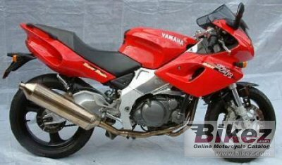 1997 Yamaha SZR 660 photo