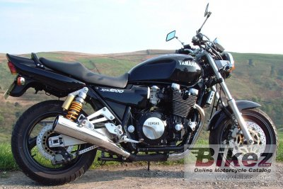1997 Yamaha XJR 1200 photo