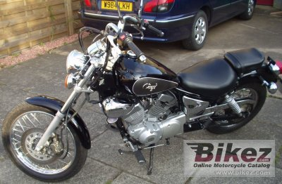 1997 yamaha xv 125 virago specifications and pictures. Black Bedroom Furniture Sets. Home Design Ideas
