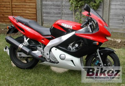 Thundercat Yamaha Review on 1998 Yamaha Yzf 600 R Thundercat Specifications And Pictures