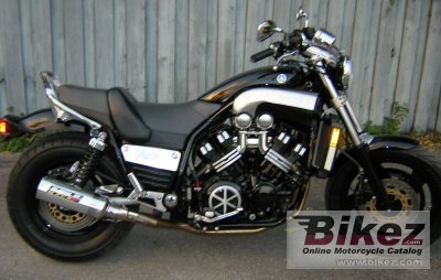 1998 yamaha v max 1200 specifications and pictures for Yamaha vmax cafe racer parts