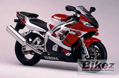 1999 Yamaha YZF-R6 specifications and pictures
