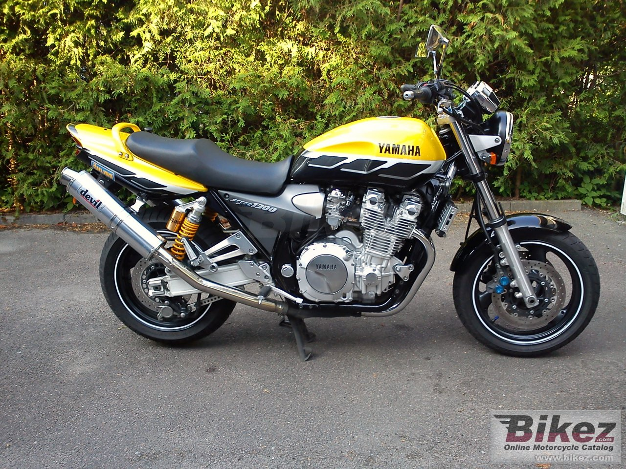 Big  xjr 1300 sp picture and wallpaper from Bikez.com