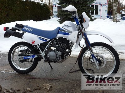 Electric Bikes For Sale >> 2000 Yamaha XT 350 specifications and pictures