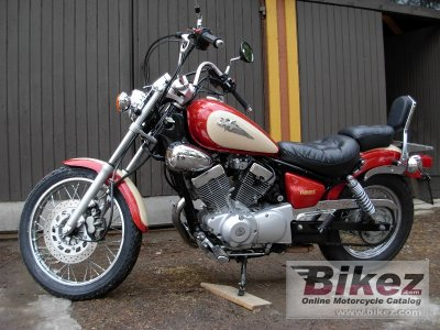 2000 yamaha xv 250 virago specifications and pictures. Black Bedroom Furniture Sets. Home Design Ideas