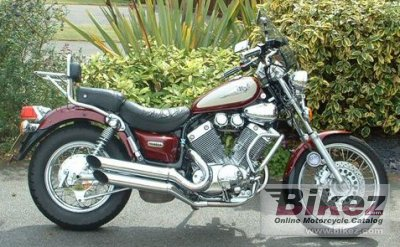 2000 Yamaha XV 535 DX Virago Deluxe specifications and pictures