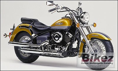 2000 Yamaha XVS Drag Star Classic 650 specifications and