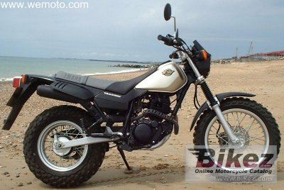 2001 Yamaha TW 125 photo