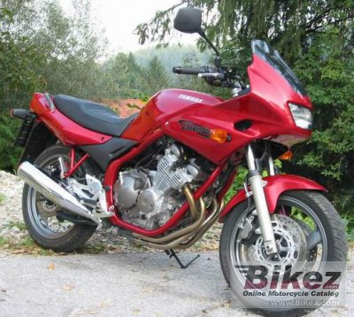 2001 yamaha xj 600 s diversion specifications and pictures. Black Bedroom Furniture Sets. Home Design Ideas