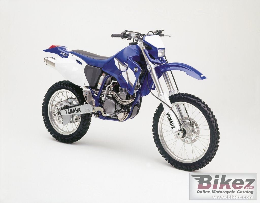 Published with permission. wr 250 f