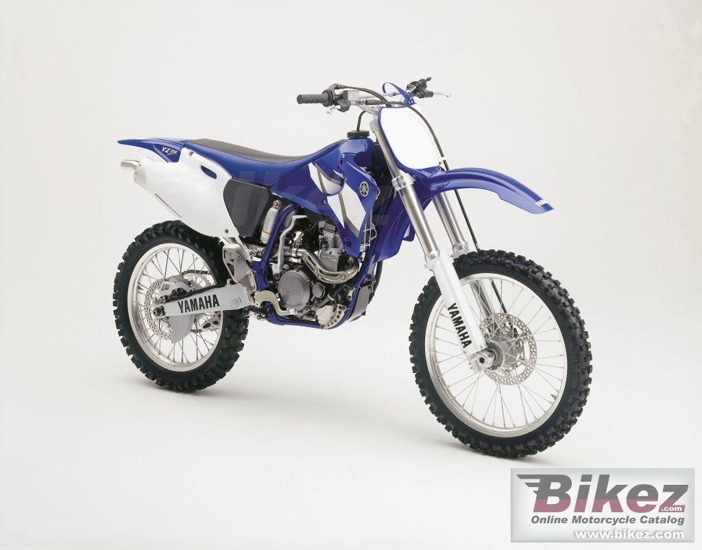 Published with permission. yz 250 f