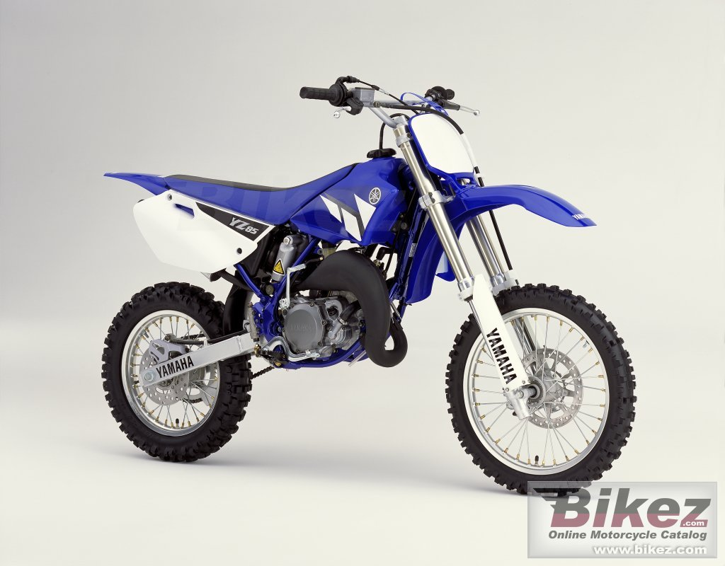 Big  Published with permission. yz 85 picture and wallpaper from Bikez.com