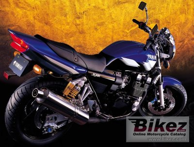 2002 Yamaha XJR 400 R photo