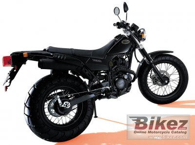 2002 Yamaha TW 200 specifications and pictures
