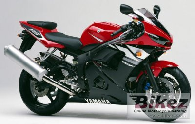 2003 Yamaha YZF-R6 photo