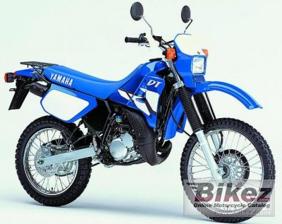 2003 yamaha dt 125 specifications and pictures. Black Bedroom Furniture Sets. Home Design Ideas