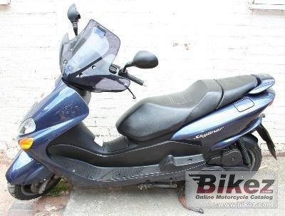 2003 Yamaha Majesty 125
