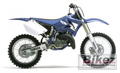 2004 Yamaha YZ 125 specifications and pictures