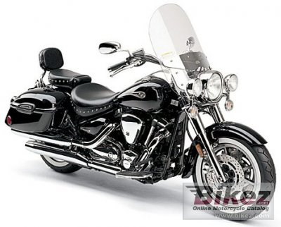2005 Yamaha Road Star Midnight Silverado 1700 photo
