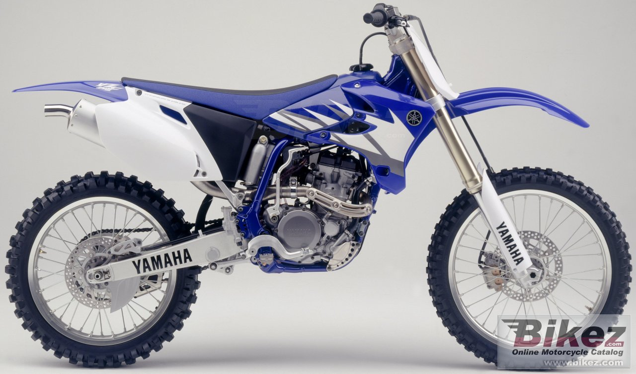 Big Yamaha yz 250 f picture and wallpaper from Bikez.com