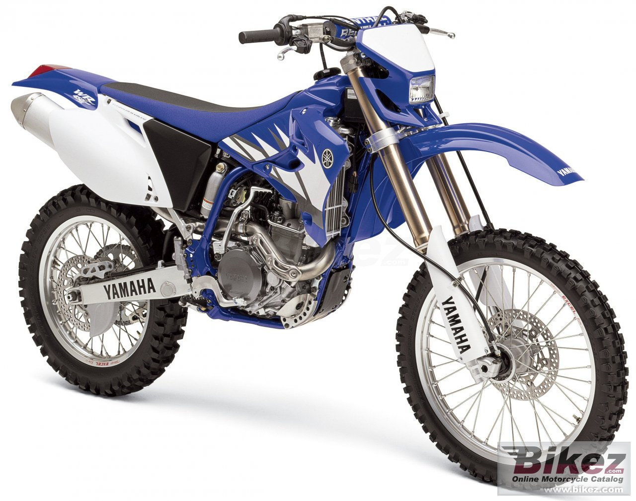Big Yamaha wr 450 f picture and wallpaper from Bikez.com