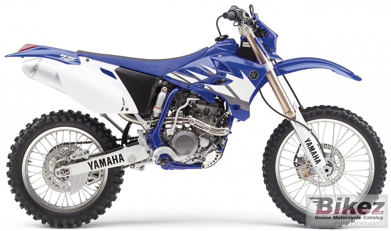 Big Yamaha wr 250 f picture and wallpaper from Bikez.com