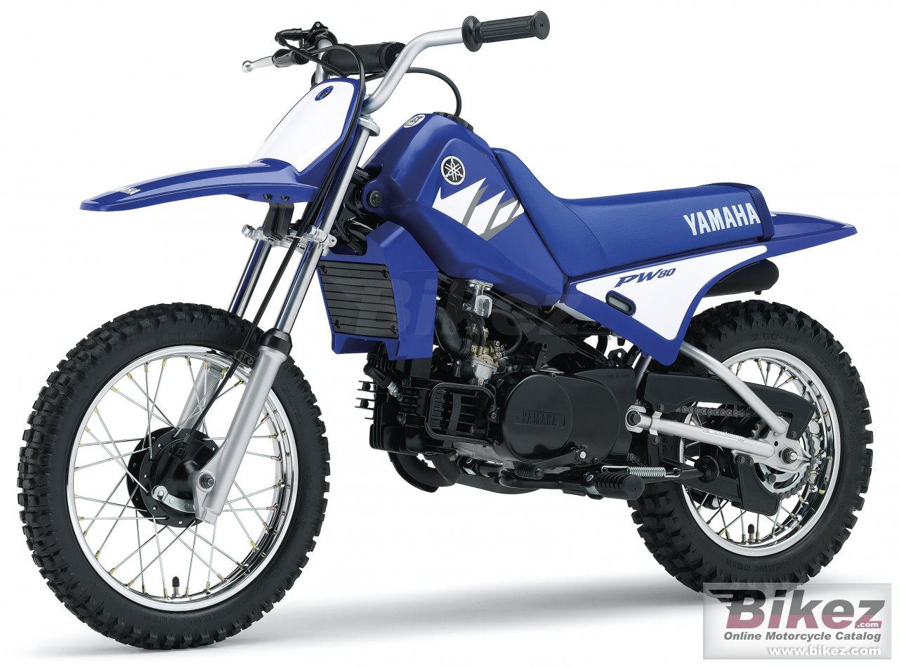 Big Yamaha pw 80 picture and wallpaper from Bikez.com