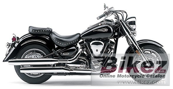 Big Yamaha road star midnight picture and wallpaper from Bikez.com