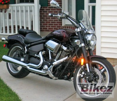 yamaha road star warrior 1700 2005