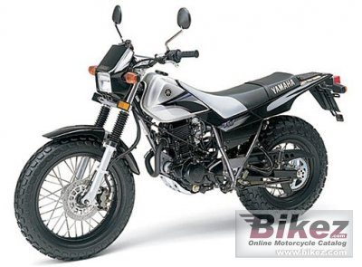 2005 Yamaha TW 200 specifications and pictures