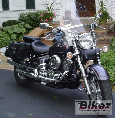 2005 Yamaha V Star Classic 650 specifications and pictures