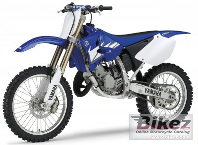 2005 yamaha yz 125 specifications and pictures. Black Bedroom Furniture Sets. Home Design Ideas
