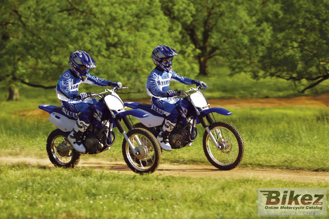 Big Yamaha tt-r125-lw picture and wallpaper from Bikez.com