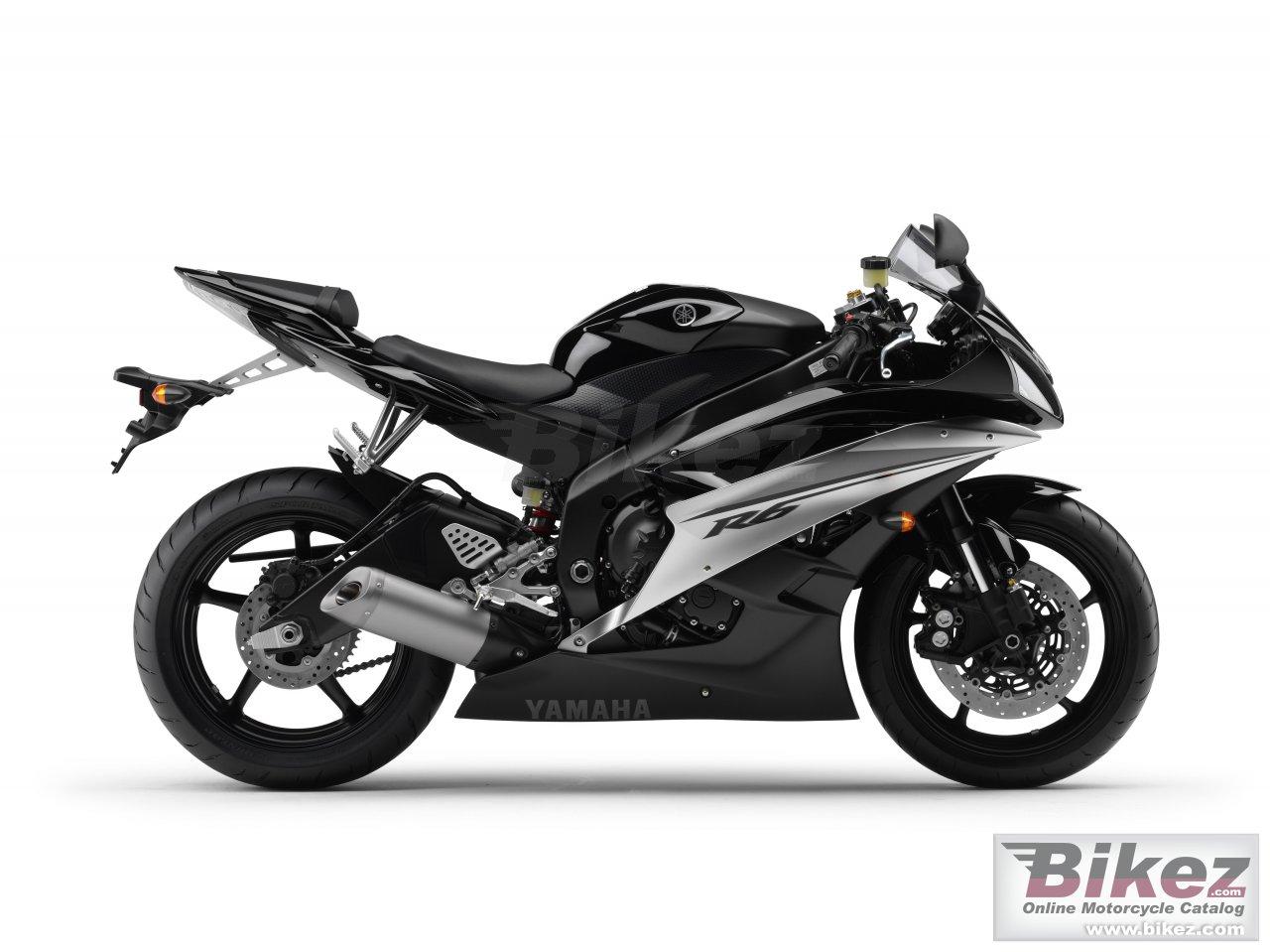 Мотоцикл yamaha yzf-r6 `14