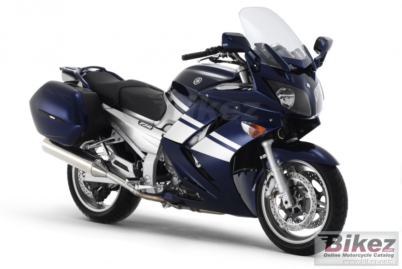 Big Yamaha fjr 1300 a picture and wallpaper from Bikez.com