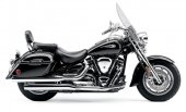 2007 Yamaha Road Star Midnight Silverado photo