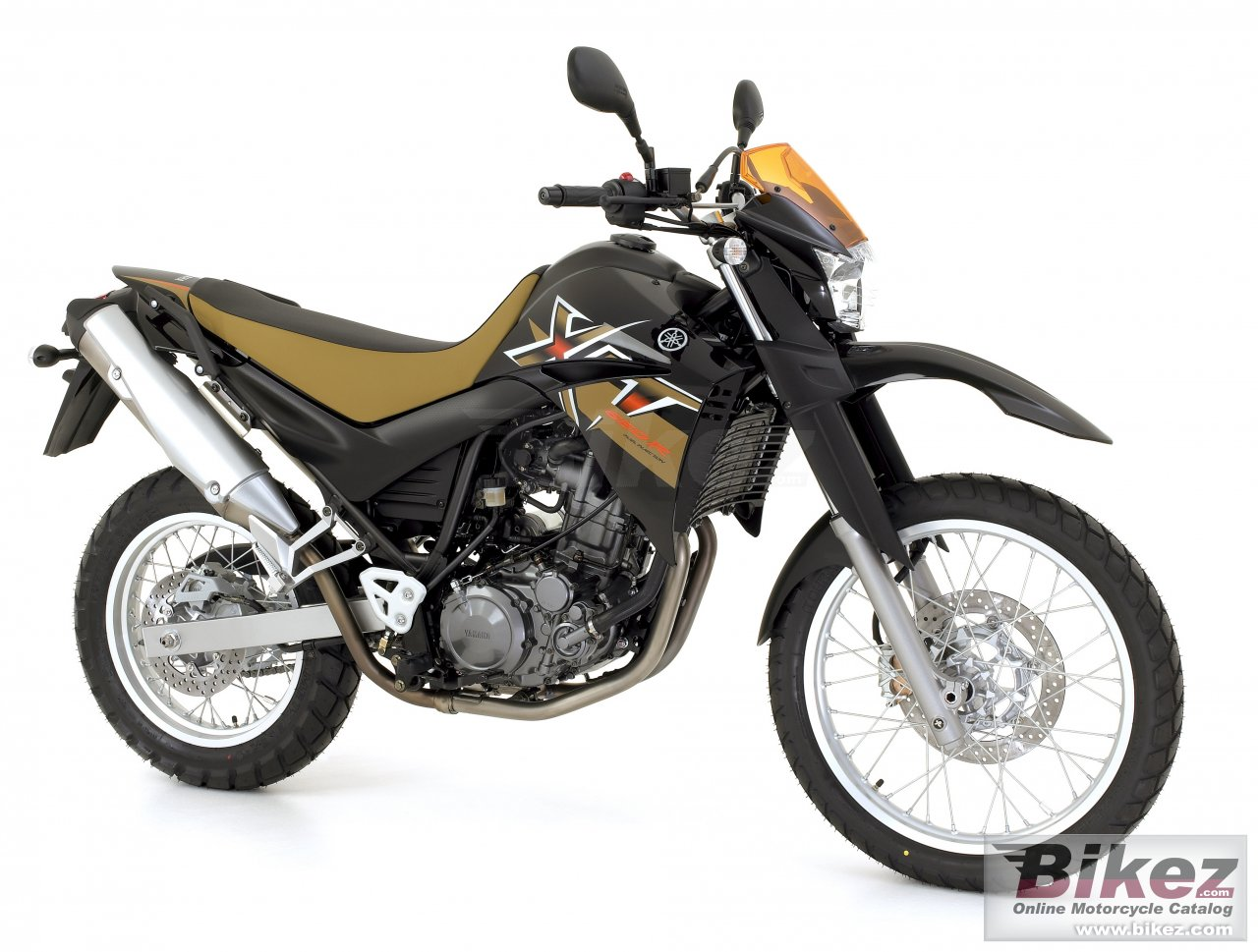 Big Yamaha xt 660 r picture and wallpaper from Bikez.com
