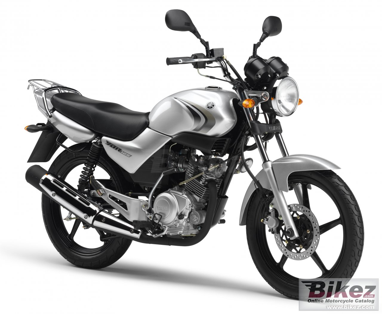 Big Yamaha ybr 125 picture and wallpaper from Bikez.com