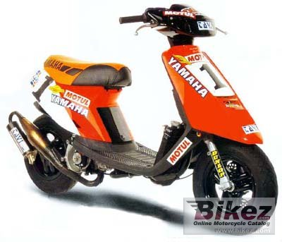 Smuk 2007 Yamaha Jog R specifications and pictures WC-09