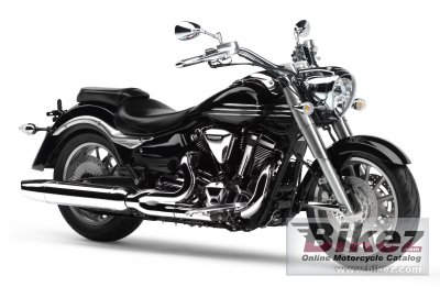2007 Yamaha XV 1900 Midnight Star