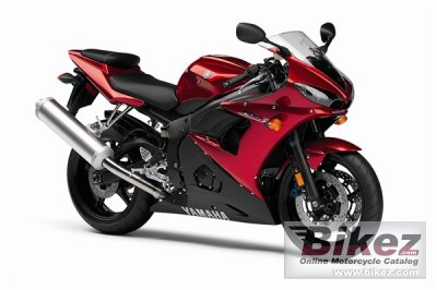 2007 Yamaha YZF-R6S specifications and pictures