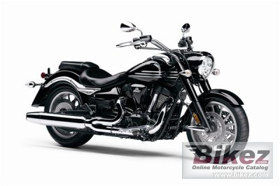 2008 Yamaha Roadliner Midnight photo