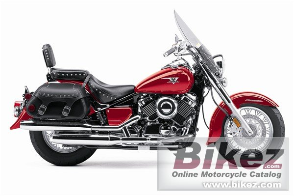 Big Yamaha v star silverado picture and wallpaper from Bikez.com