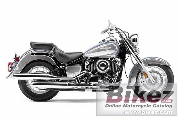 Big Yamaha v star classic picture and wallpaper from Bikez.com