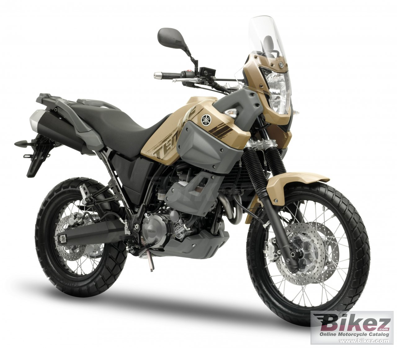 Big Yamaha xt660z tenere picture and wallpaper from Bikez.com