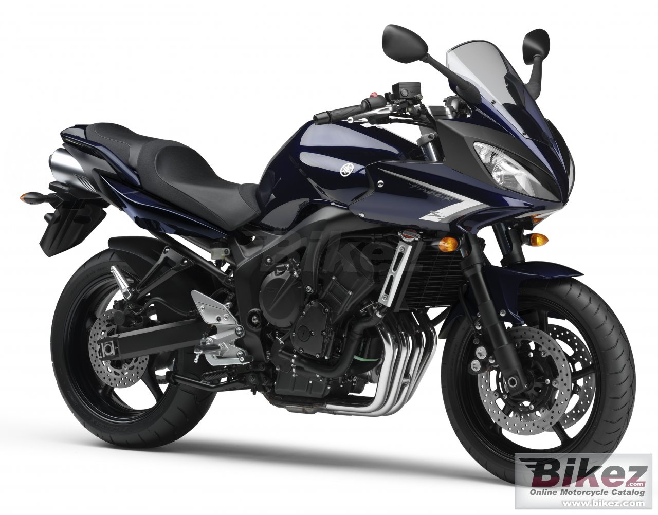 Big Yamaha fz6 fazer s2 picture and wallpaper from Bikez.com