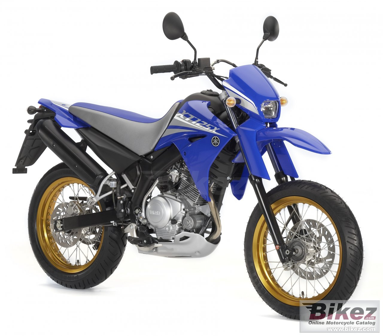 Big Yamaha xt125x picture and wallpaper from Bikez.com