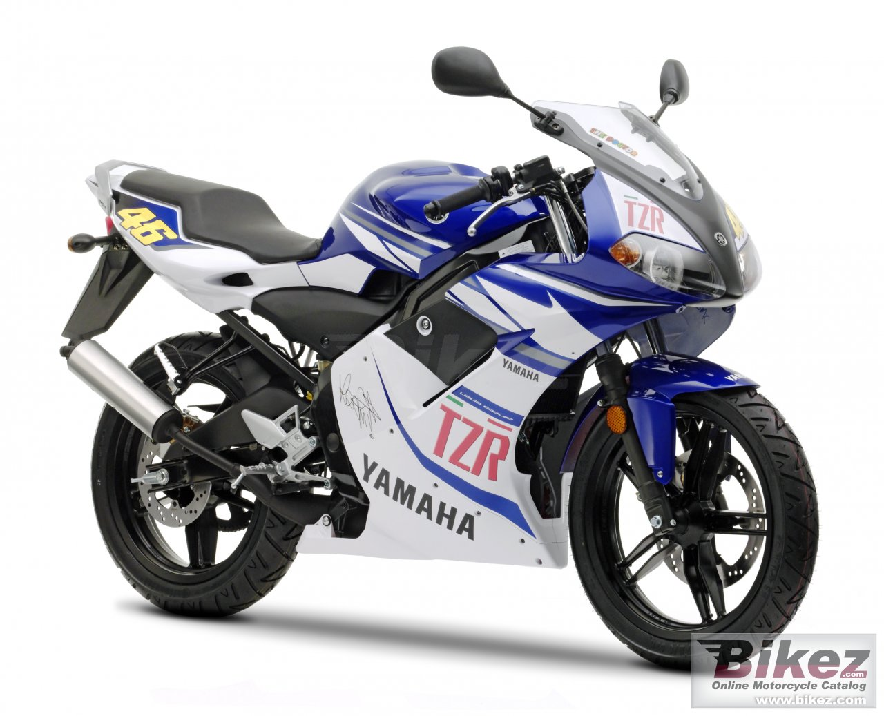 Big Yamaha tzr50 race replica picture and wallpaper from Bikez.com