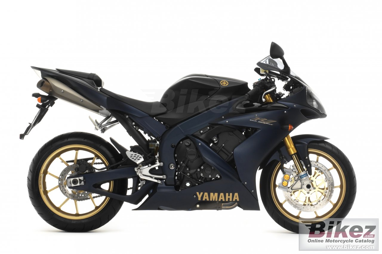 Big Yamaha yzf-r1sp picture and wallpaper from Bikez.com